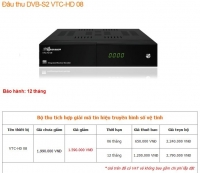 Đầu thu vệ tinh VTC HD08