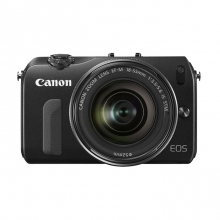 Canon EOS M Kit EF-M 18-55 + 22 + Flash 90EX