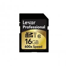 Lexar Professional SDHC 16Gb Class 10 600x/ 90MB/s