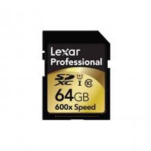 Lexar Professional SDXC 64Gb Class 10 600x/ 90MB/s
