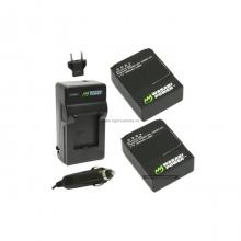 Bộ pin sạc Li-ion Wasabi cho Gopro Hero3/3+