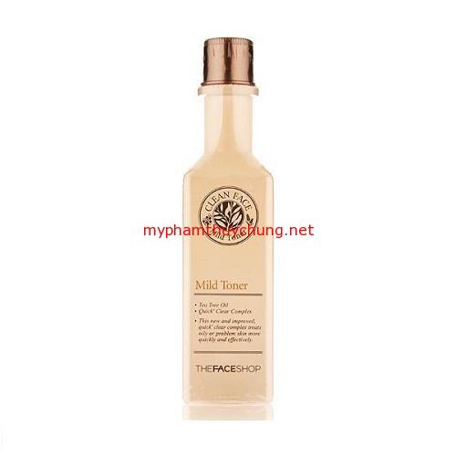 nước hoa hồng Clean Face Mild Tone,