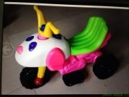 Xe máy điện trẻ em hình con chó con ngộ nghĩnh