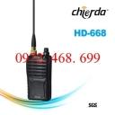 BỘ ĐÀM CẦM TAY CHỐNG NƯỚC CHIERDA HD-668
