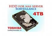 Ổ cứng gắn trong Toshiba Surveillance 4TB 3.5 inch SATA 7200rpm (MD03ACA400V)