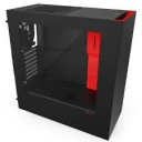 Case NZXT S340 Black-Red