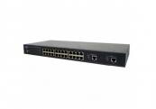 10/100 Mbps Smart Ethernet Switch with Gigabit Uplink  FGSW-2620CS