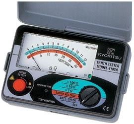 đo điện trở đất